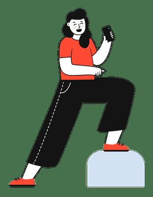 ilustracion telefonica