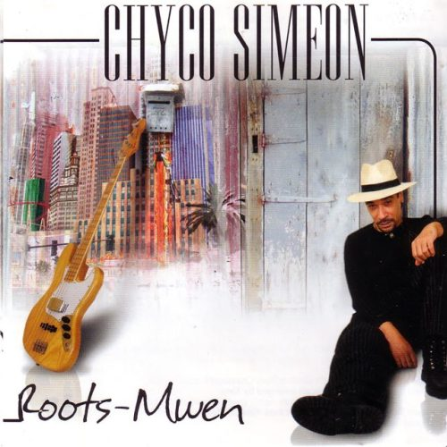 The cover of Chyco Simeon's second album Roots Mwen