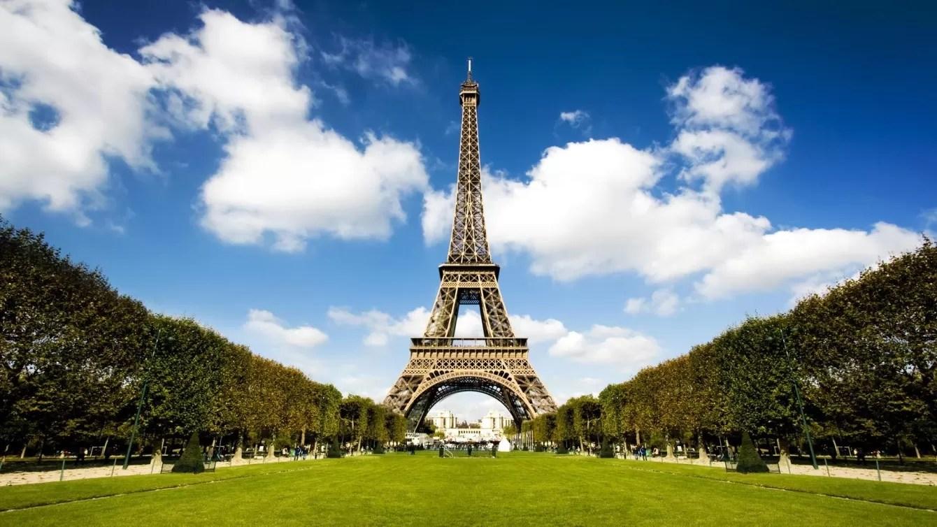 Красивые картинки парижа эйфелева башня