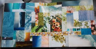 MAGAZINE PICTURE MOSAIC….QUOTE IS; LET IT ALL GO ….SEE WHAT STAYS.
