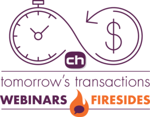 Webinars and Fireside chats