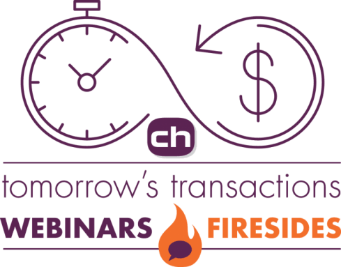 Webinars and Fireside chats