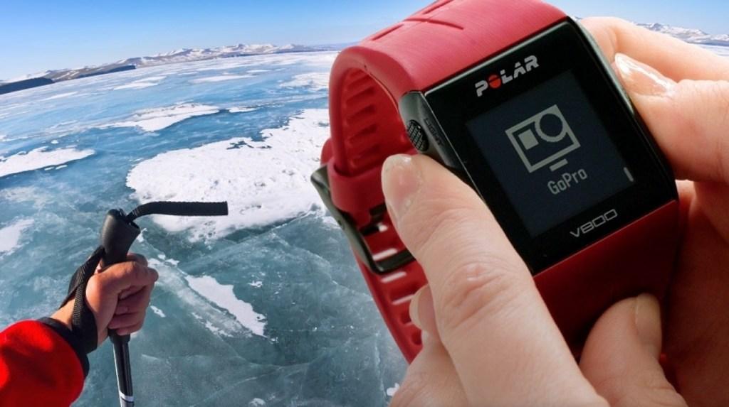 Nyní můžete GoPro kameru ovládat pomocí chytrých hodinek Polar V800