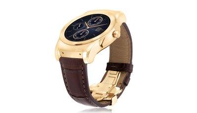 LG obléklo své luxusní chytré hodinky do zlatého kabátu