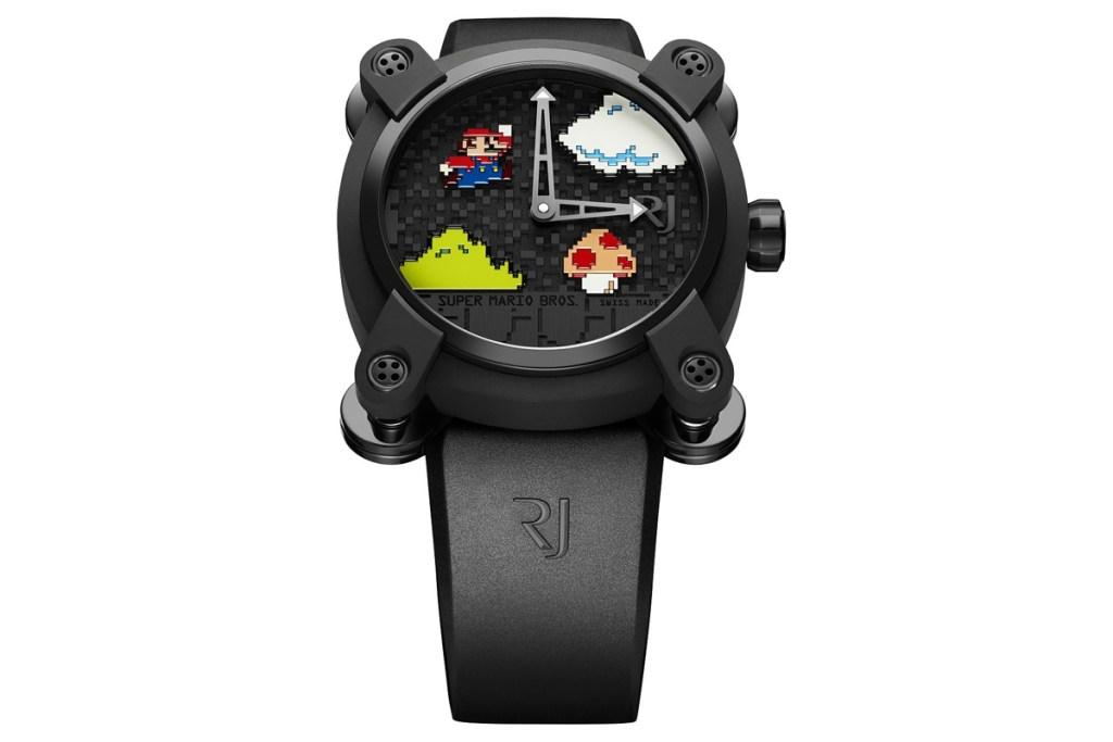 Tyto 'Super Mario Bros.' hodinky Vás vyjdou na 470 000 Kč