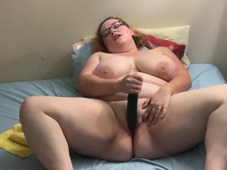 Masturbating with Huge Vegetables! Poll Winning Video!