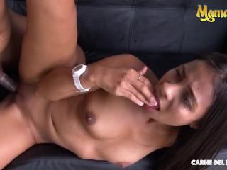 CARNEDELMERCADO – MARIA ANTONIA ALZATE COLOMBIAN Brunette Babe Kinky Fucking With Horny Stranger