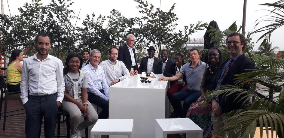 15 entreprises françaises, accompagnées par le bureau Business France d'Abidjan ont participé au Business Fair de la Banque africaine de développement les 4 et 5 avril - JPEG