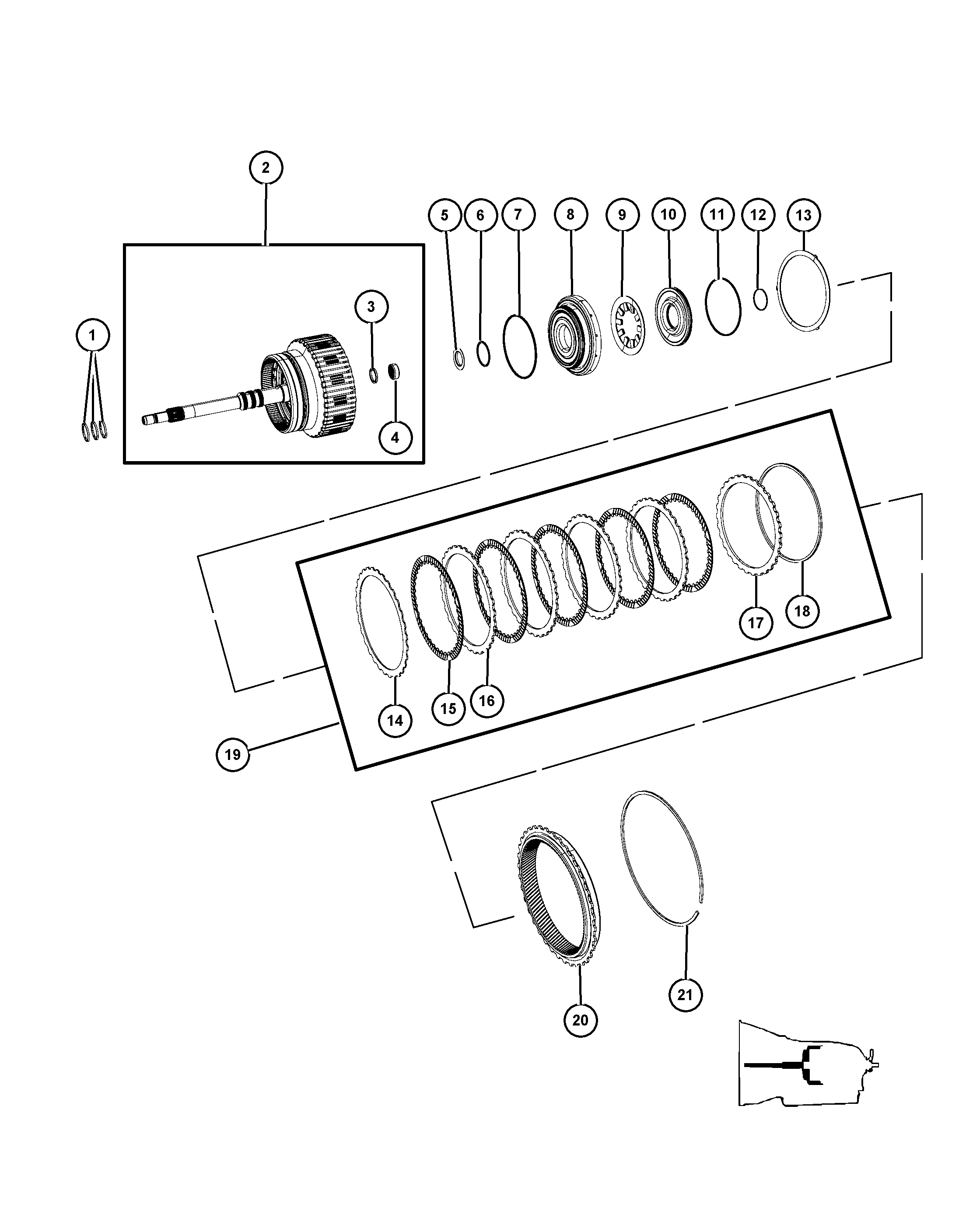 Jeep Wrangler Clutch Diagram
