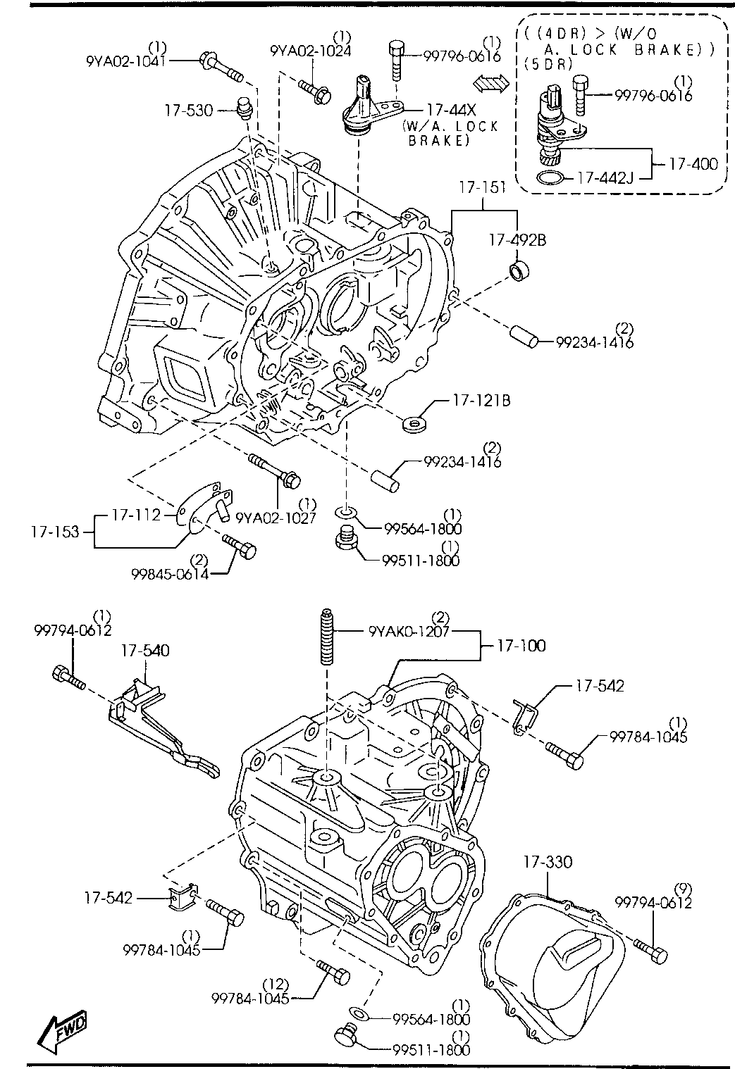 Mazda 3 Engine Parts