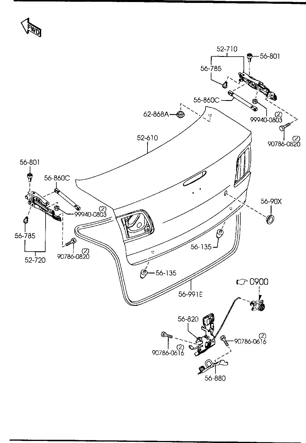 Coffe Mazda Mazda 3 Body Parts Diagram