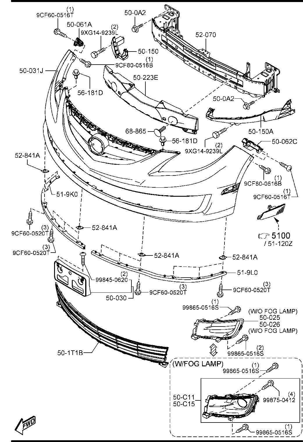 Mazda 6 Parts Diagram