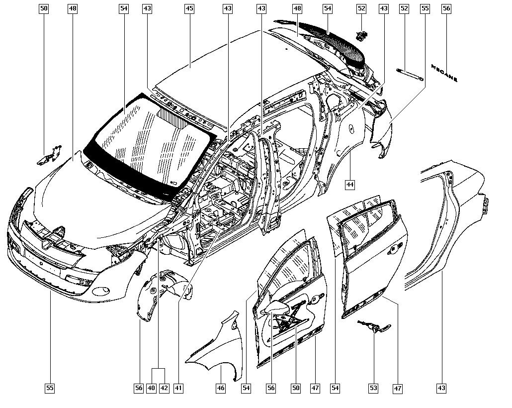 Renault Laguna I Wiring Diagram
