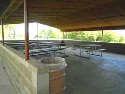 Lion's Park Shelter Inside