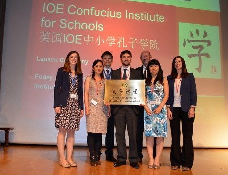 Dartford Mandarin team, May 2013