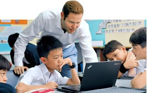 Jamie Teaching