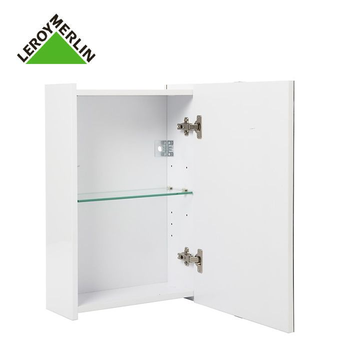 Leroy Merlin Armoire De Toilette 1 Porte Miroir A Suspendre Larg 37cm Essential Blanc Garantie 2 Ans Prix Pas Cher Jumia Ci