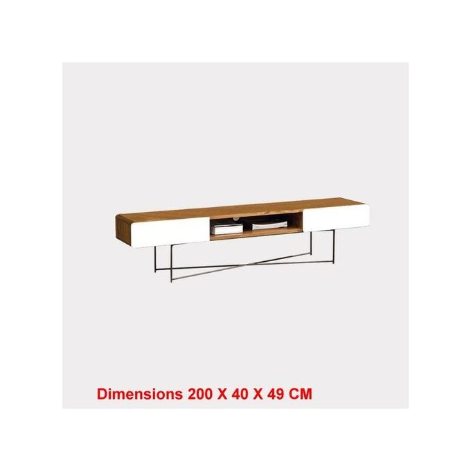 meuble tv dimensions 200 x 40 x 49 cm