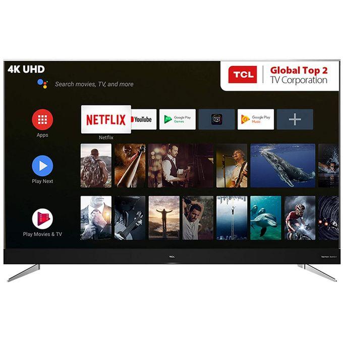 189 30 cm 75 pouces televiseur intelligent android led certifie ultra hd 4k 75c2us noir