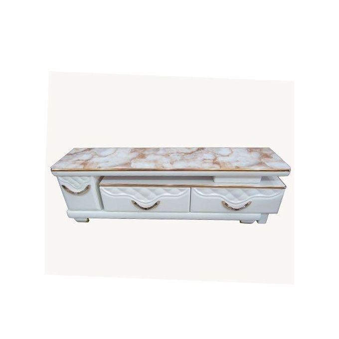 meuble tv a 2 tiroirs 1 porte extensible 1 m 50 a 2 m 40 cm ts 3038 beige