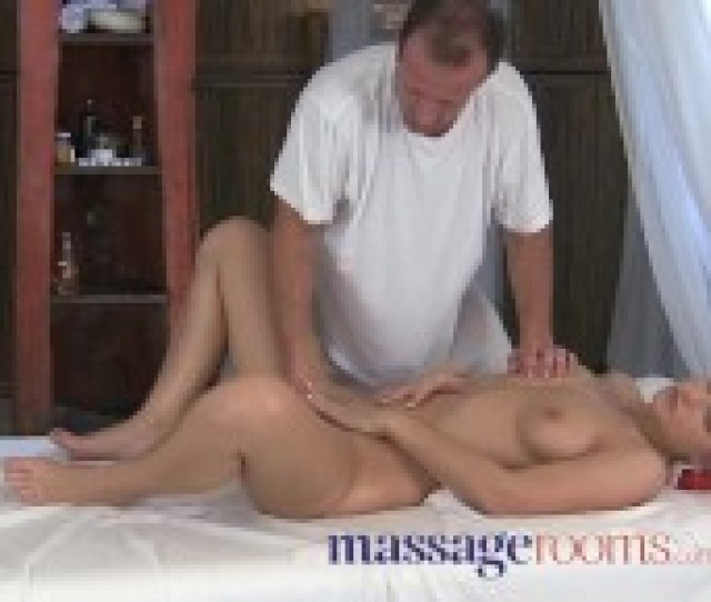 Massage Rooms Powerful G Spot Orgasm For Her Little Pussy