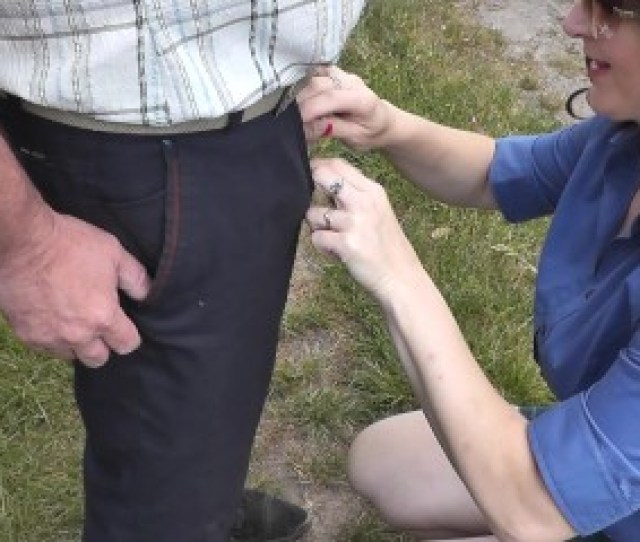 Man Pisses Woman Holds Hands His Dick Close Up Dubarry Private Collection