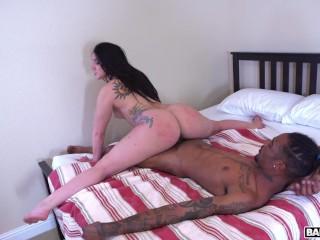 BANGBROS – Big Black Cock for Mandy Muse's Plump Big Ass