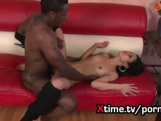 The Black cock passion of Arabian sexy brunette