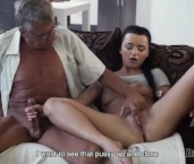 Naughty Girl Erica Black Seduces Bfs Dad To Fuck Her Pussy