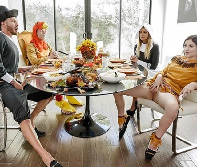 Familystrokes Horny Step Family Fucks Each Other For Thanksgiving Pornhub Com