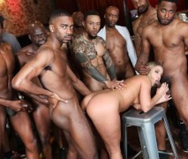 Bbc Slut Candice Dare Survives Interracial Gangbang In A Bar 925 Hd