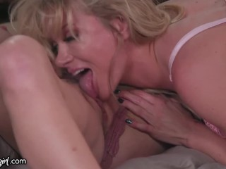 MommysGirl Horny Stepmom Caught Fapping to Step-Teen & Friend