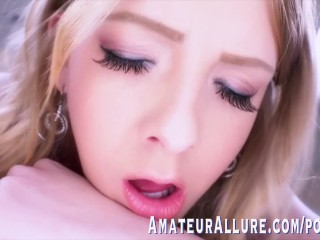 ADORABLE SHEY HOLMES IN HER FIRST SCENE EVER – AMATEUR ALLURE