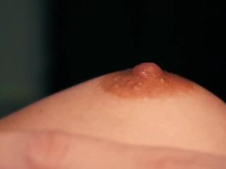 Close up Nipple Play