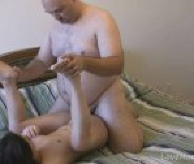 Old Guy Likes Eating Young Teen Pussy