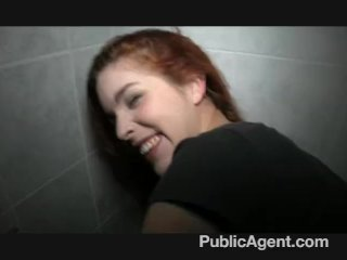 PublicAgent – Naughty redhead getting fucked
