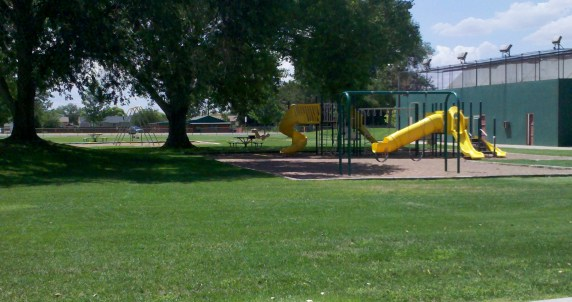 Pioneer Park Playground Equipment