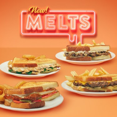 Cozy Up With Denny's All New Melts and Bowls, Plus New Slam It! Moons Over My Hammy