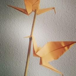 Origami pájaros