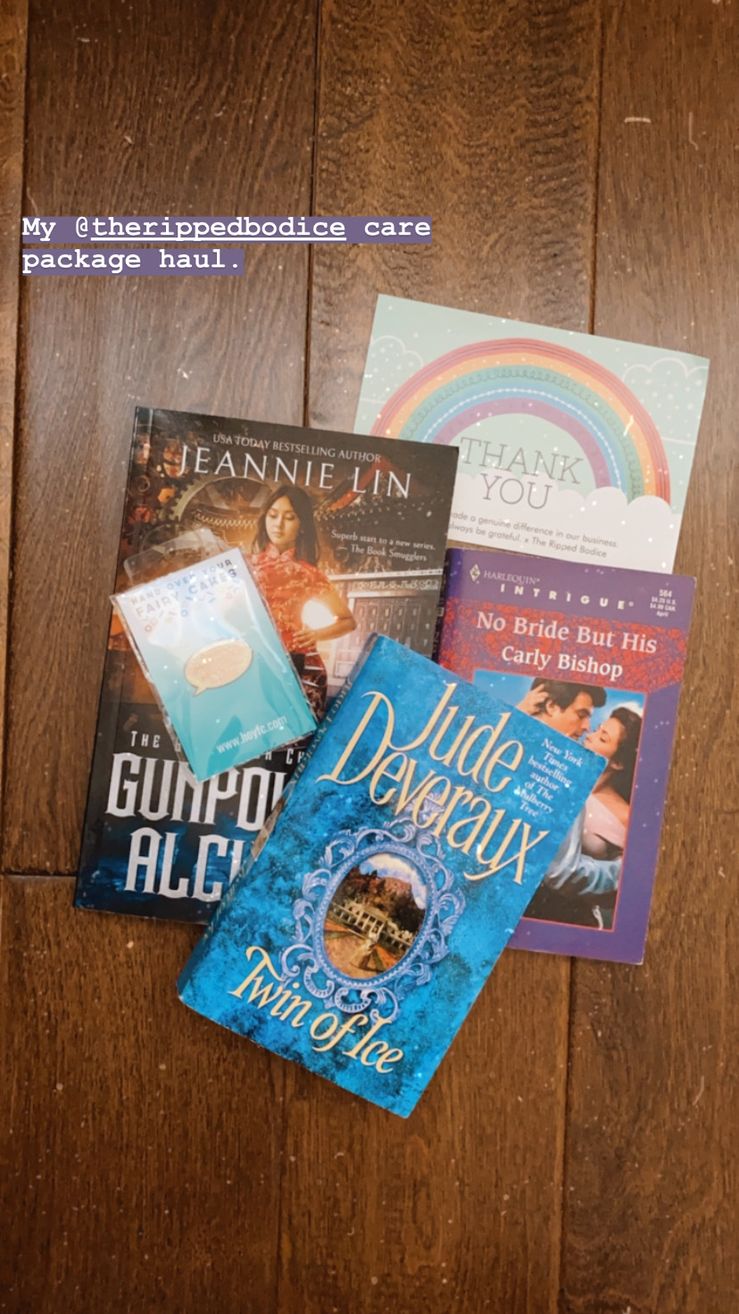 Care package from The Ripped Bodice