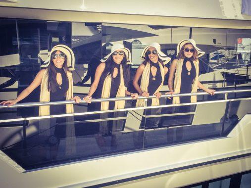 Boat Show Hostesses Southampton Cannes London Monaco