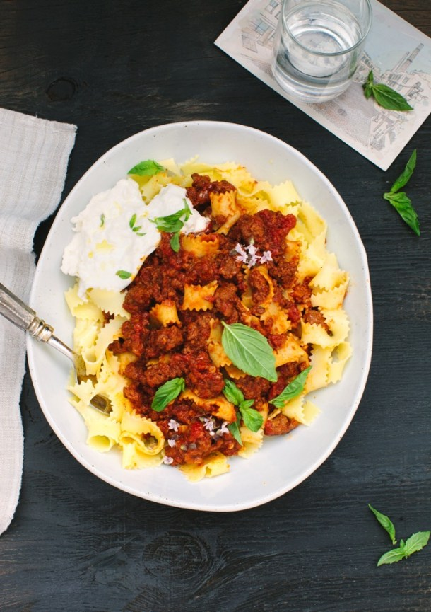 Pappardelle Ragu alla Bolognese Recipe