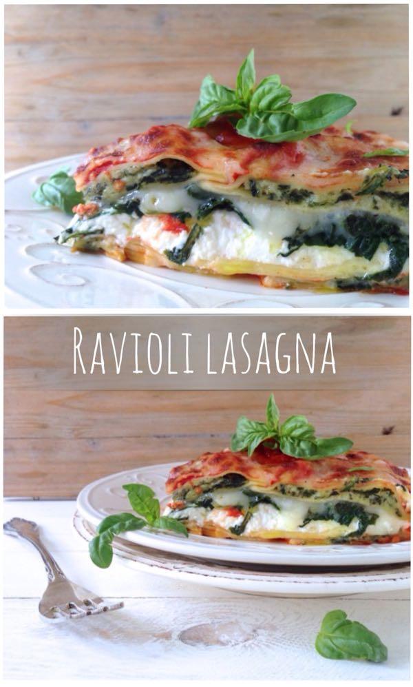 ravioli lasagna florentine