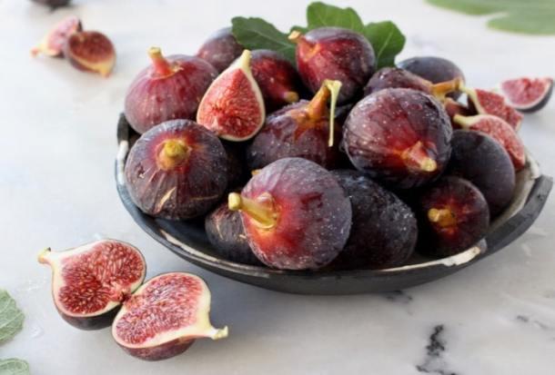 Bowl of Purple Figs