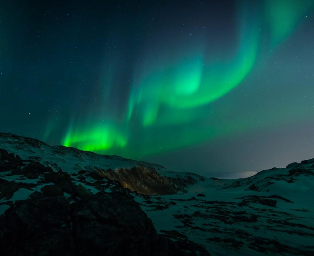 aurora or northern lights