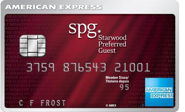 SPG Starwoods Rewards