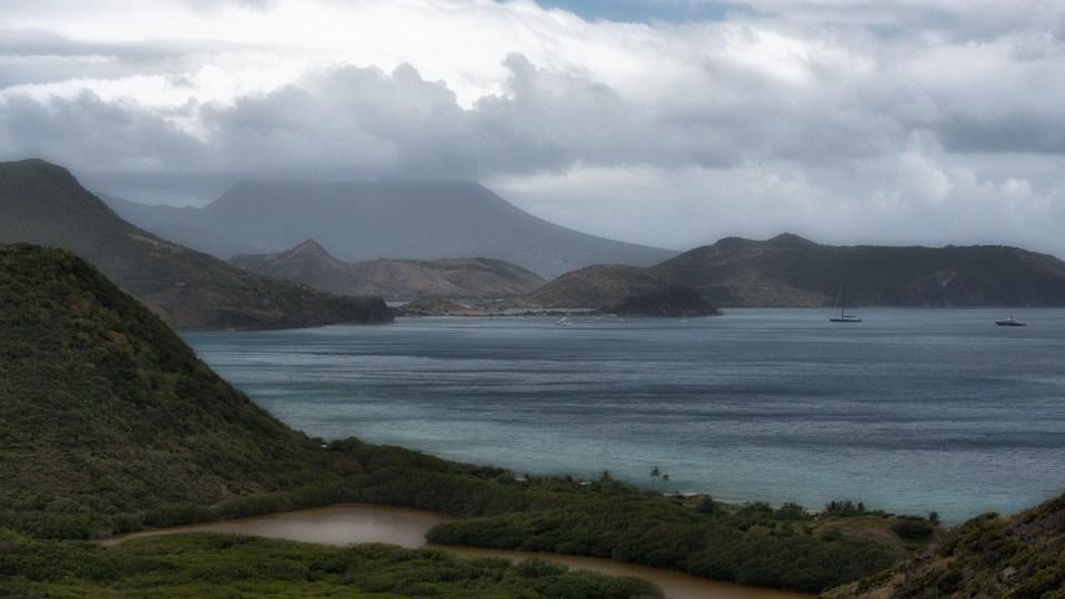 Cockleshell Bay beach, St. Kitts