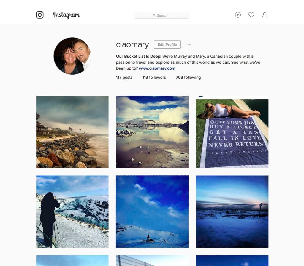 Instagram.com/ciaomary