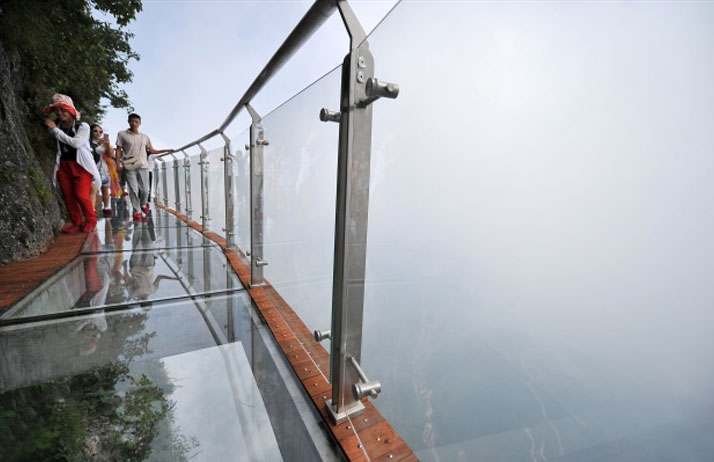 Coiling Dragon, China, Glass Walkway