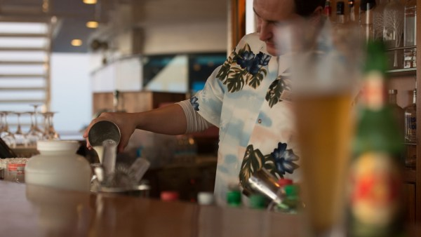 Royal Caribbean bartender